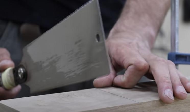 diy mallet cut wood