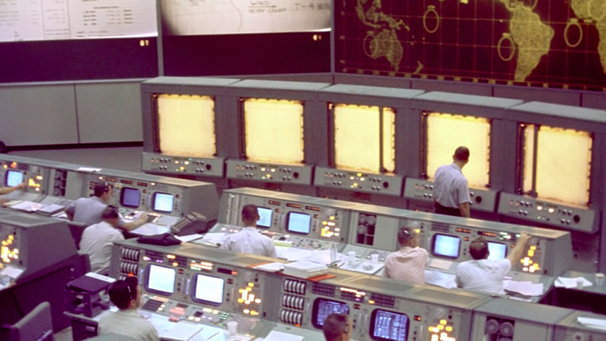 This Is How Mission Control Tracked Astronauts 60 Years Ago