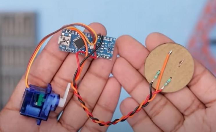 diy coin bank resistors