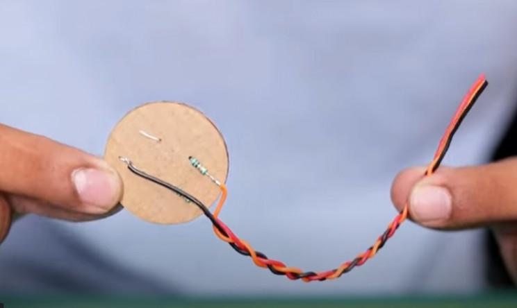 diy coin bank wire resistors