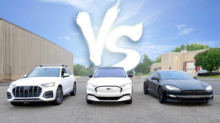 Gas vs. Electric: Which One Wins a 1,000-Mile Road Trip?