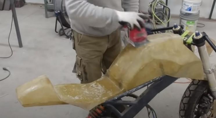 diy streetfighter bike bodywork