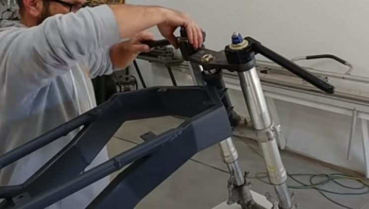 diy ev bike handlebars