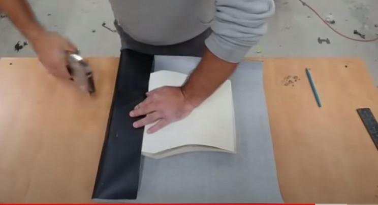 diy streetfighter seat vinyl coverings