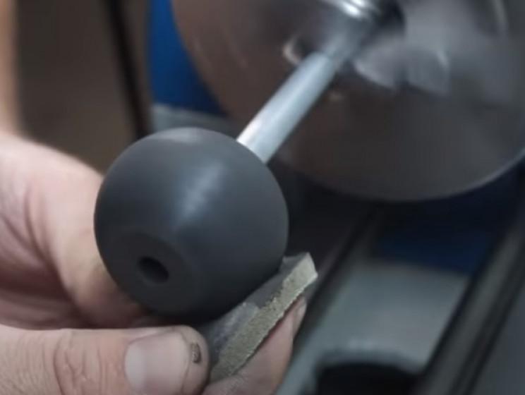 diy pressure gauge restore knob lathe