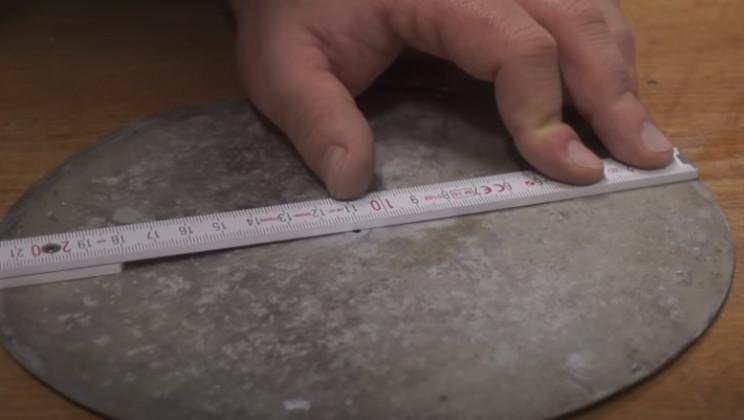 diy pressure gauge restore flat plate