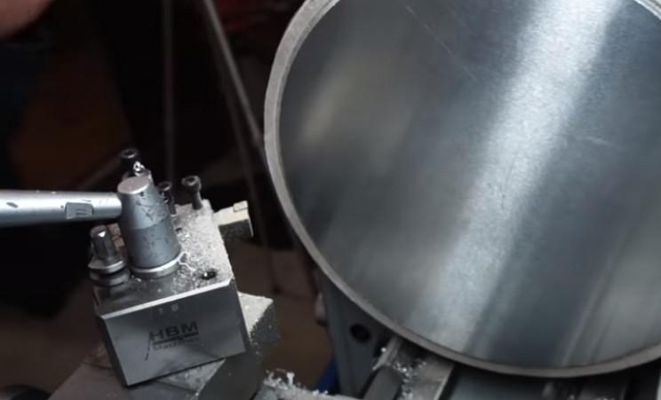 diy pressure gauge restore new plate