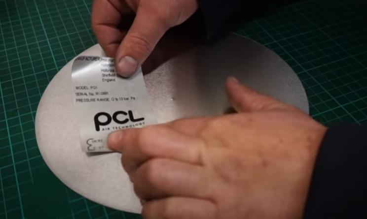 diy pressure gauge reattach stickers