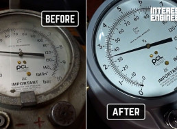 How to Restore an Antique Floor Tire Pressure Gauge to Its Former Glory
