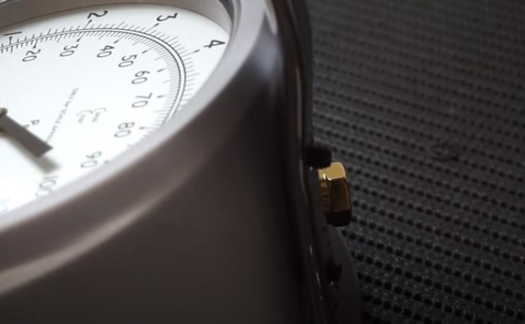 diy pressure gauge back bar