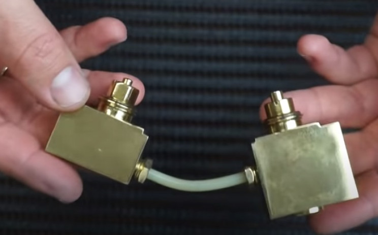 diy pressure gauge restore brass and pipes