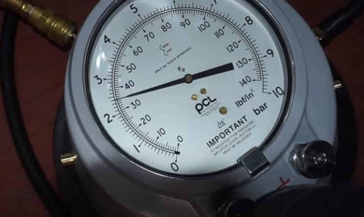 diy pressure gauge restore complete