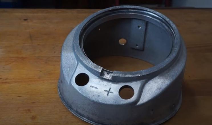 diy pressure gauge restore bare metal casing
