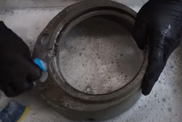 diy pressure gauge restore clean
