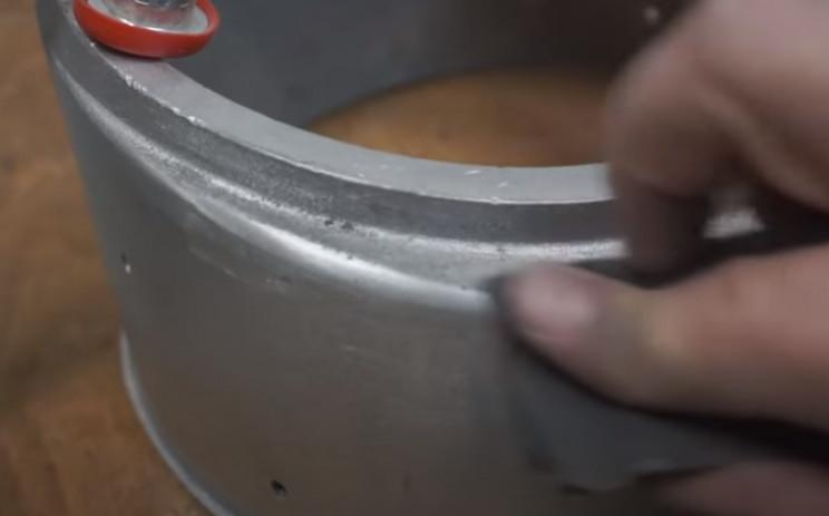 diy pressure guage restore dents chips