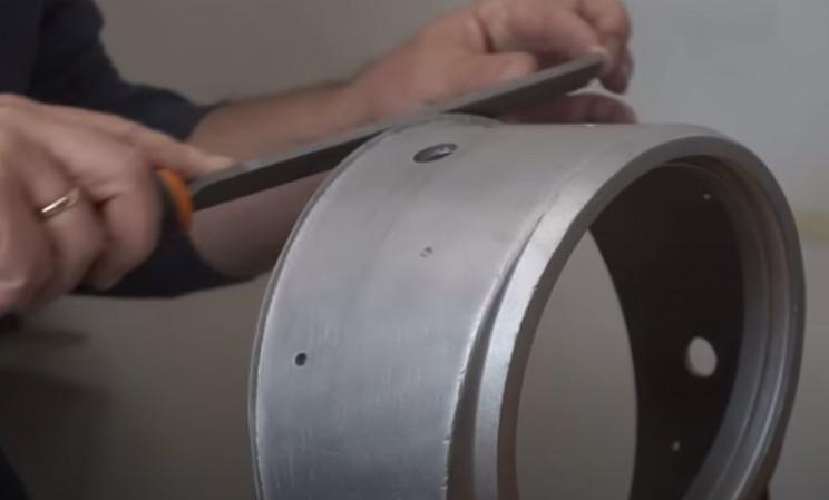 diy pressure gauge restore file damage