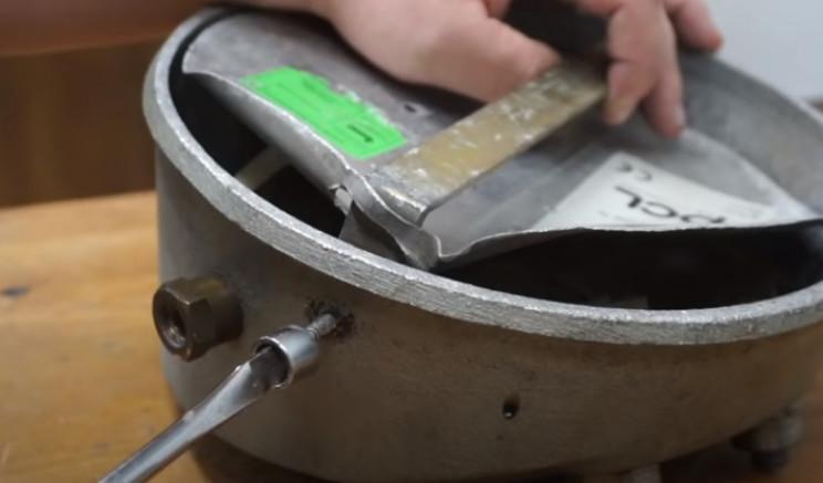 diy pressure gauge restore remove screws