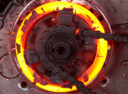 Go-Kart Clutch Pushed to Failure Melts in Slow Motion