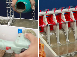 This Functioning Miniature Dam Built from Scratch Is a Masterpiece