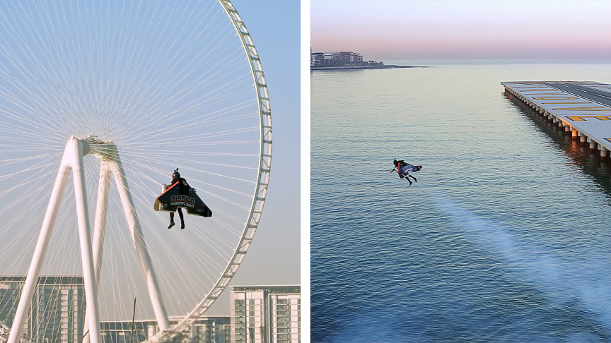 """Jetpack Pilot Flies up to the Atmosphere like a Real-Life """"Iron Man"""""""