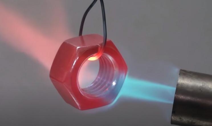 diy ring nut heat red hot