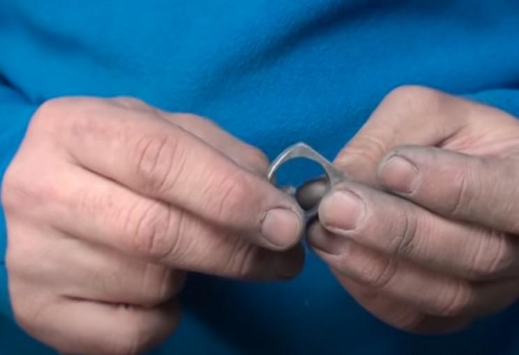 diy nut ring sandpaper