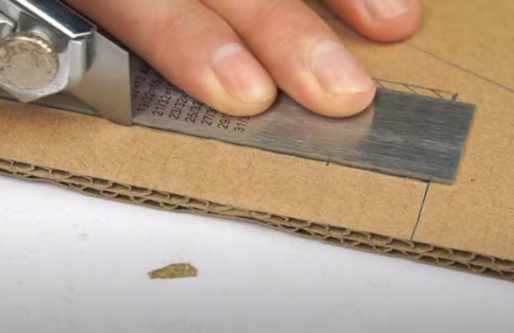 diy cardboard gun cut out templates