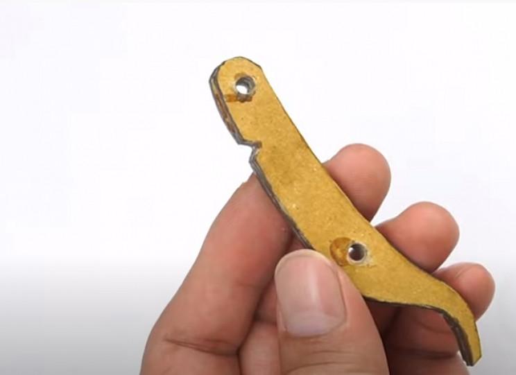 diy cardboard gun cardboard trigger
