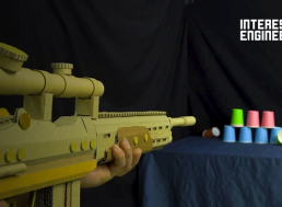 Here's How to Make Your Own Cardboard Nerf-Like Gun