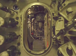 Sailor Pilots Drone Through a Submarine's Narrow Corners with Ease