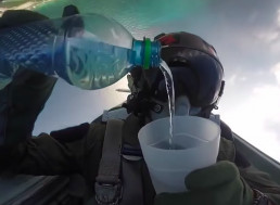 USAF Fighter Pilot Explains What They Eat and Drink While Flying