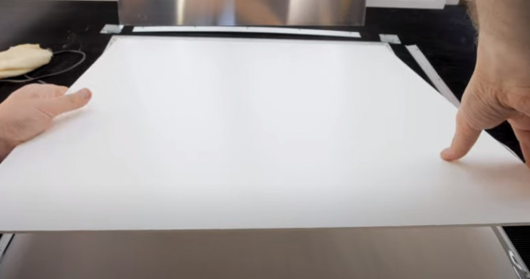 diy led light art return backplate