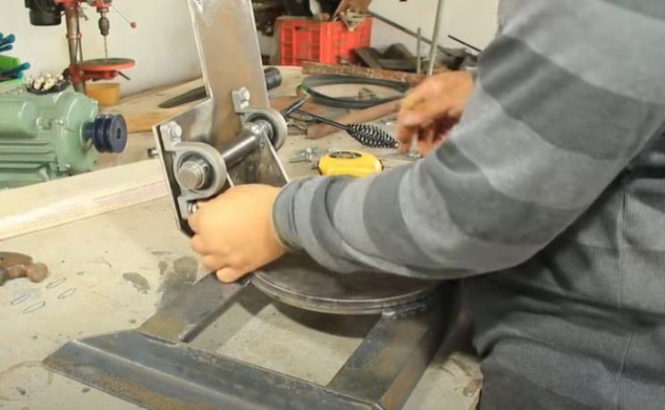 miter table saw combo mount arm