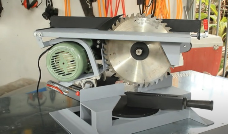 combi miter table saw complete