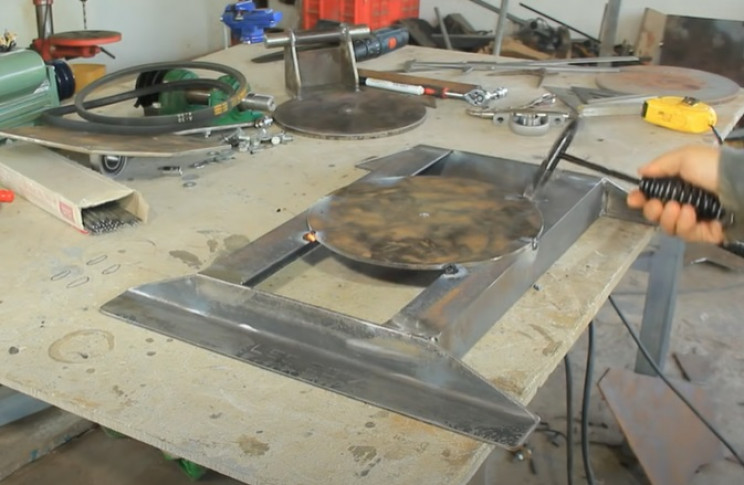 miter table saw combo frame