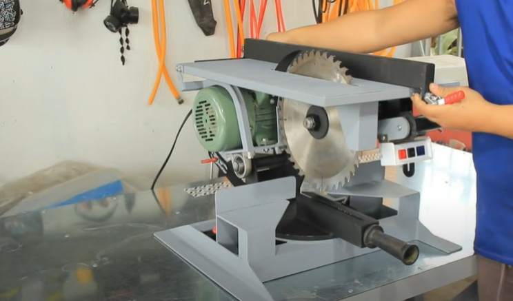 combo miter table saw paint