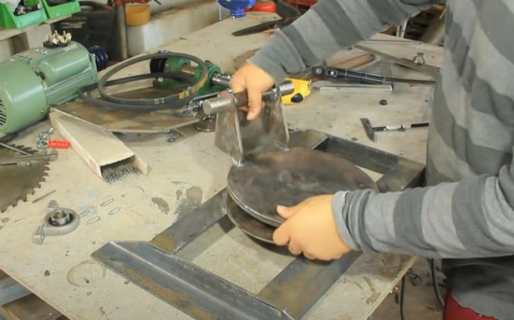miter table saw combo rotary disks