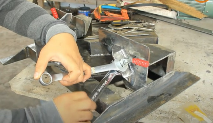miter saw table saw combo toggle clamp