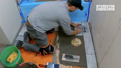 How to Lay Waterproof Floor Tiles like a Pro