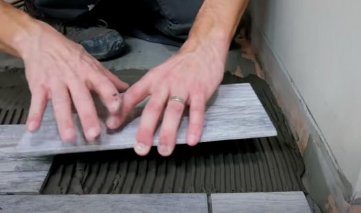 diy tiling cut edges