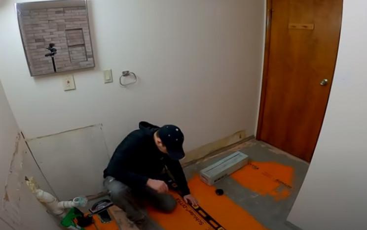 diy tiling reference lines