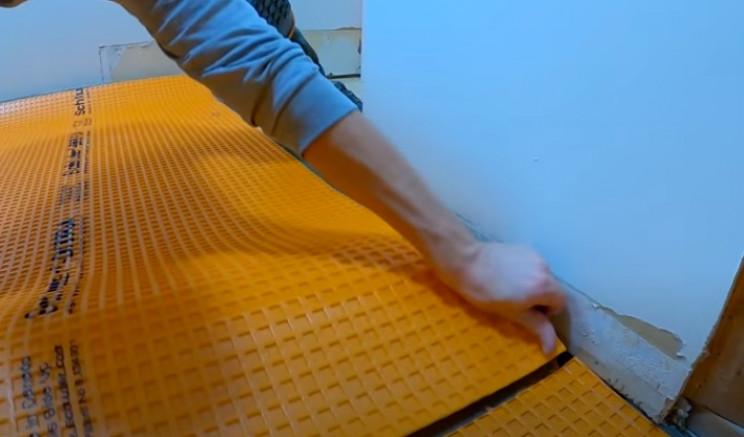 diy tiling underlayment