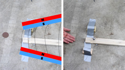 How a Simple Magnetic Overunity Toy Works