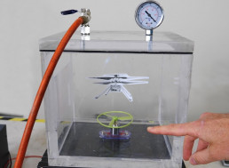 Engineer Tries to Achieve Flight at Mars' Surface Pressure In a Vacuum Chamber
