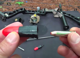 Guy Uses Bow Mag Explosive Arrowhead to Fire a .357 Magnum Round