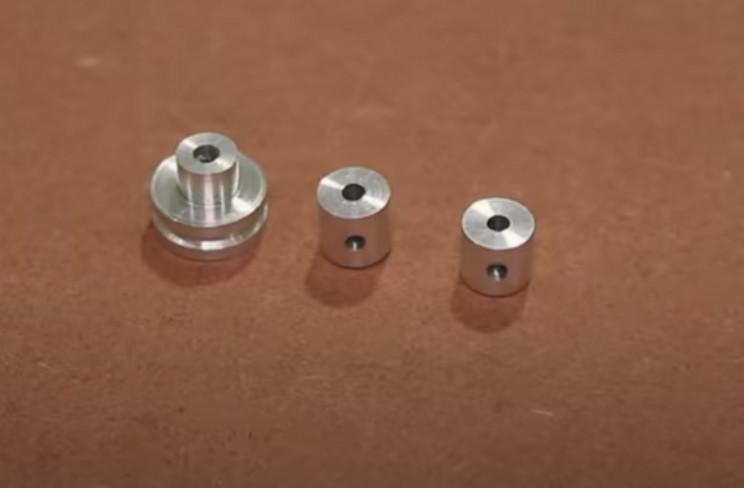 copper wire gripper pieces