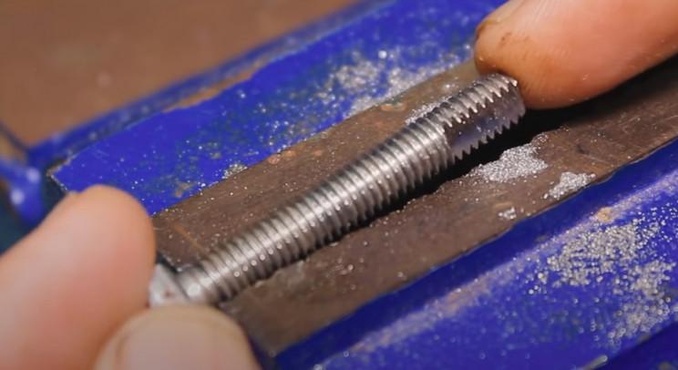 copper wiring machine bolt