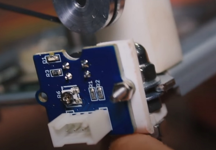 copper wiring machine IR sensor