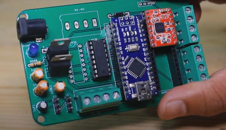 copper wiring machine pcb complete
