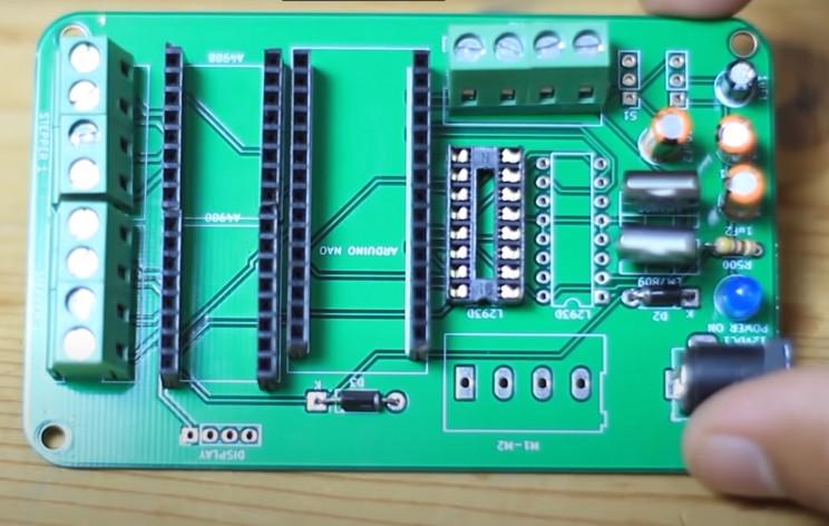 copper wiring machine pcb
